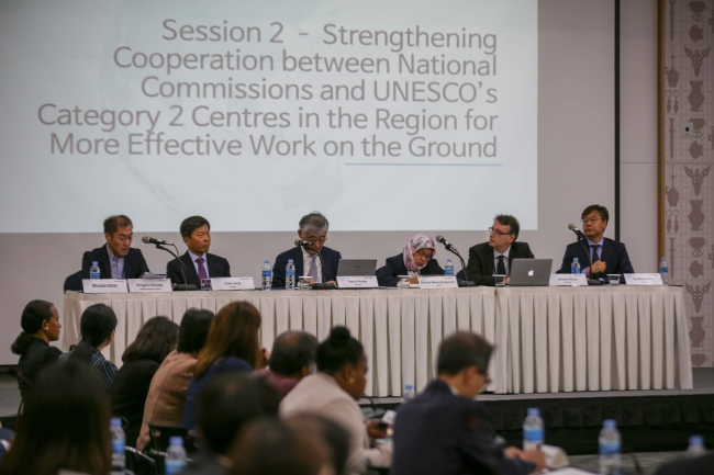 Category 2 Centres Session, (C) Korean National Commission for UNESCO 2018
